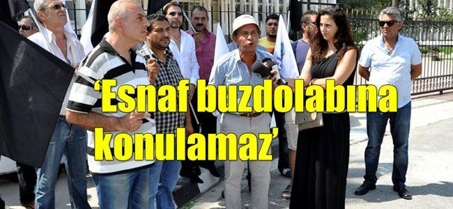 Esnaf devlet alacakları için kararname talep etti