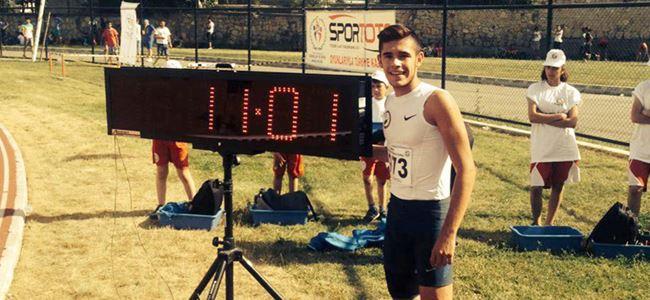 Atletlerimizden rekorlu başlangıç