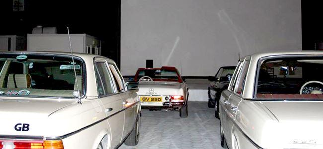 Klasik arabada klasik film keyfi