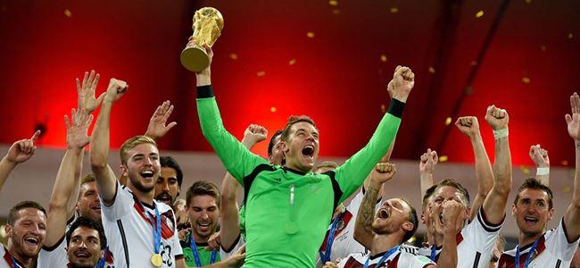 Dünyanın Şampiyonu Almanya  1-0