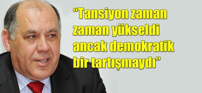 Erk, CTP-PMde yaşananları anlattı