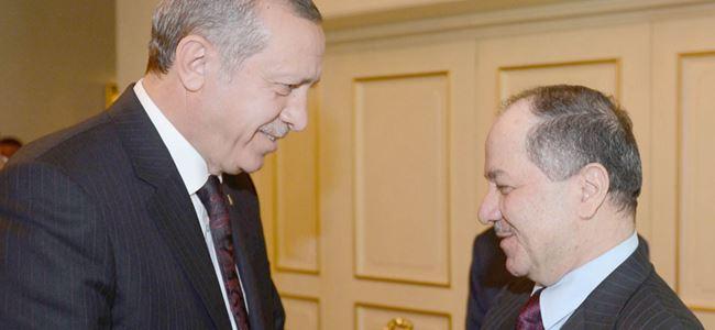 Mesut Barzani, Türkiye'de…