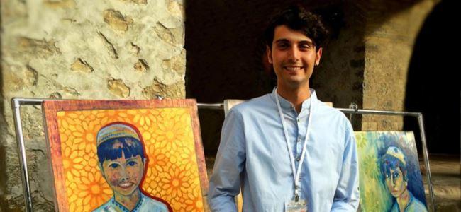 Caymaz'ın resimleri Azerbaycan'da  sergilendi.