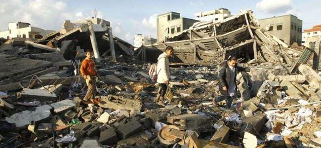 Gazzede dehşet: 230 ölü, bin 685 yaralı