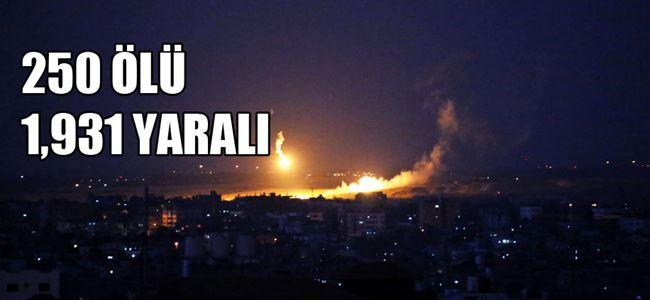 İsrail Gazzede kara harekatına başladı
