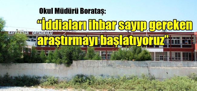 Bayraktar Ortaokulu'nda 'haraç toplama' iddiaları