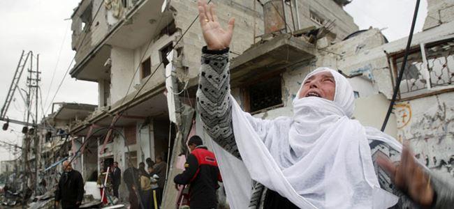 İsrael, Gazzede bilinmeyen gaz kulandı