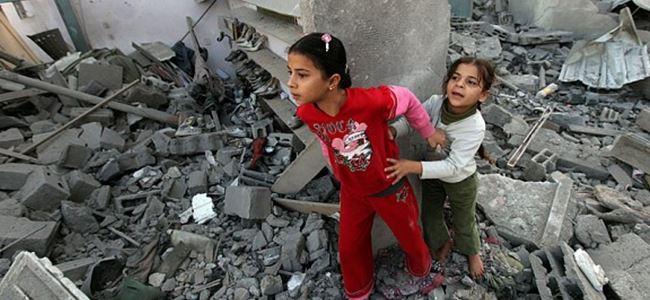 Gazzede ölü sayısı 583e yükseldi.