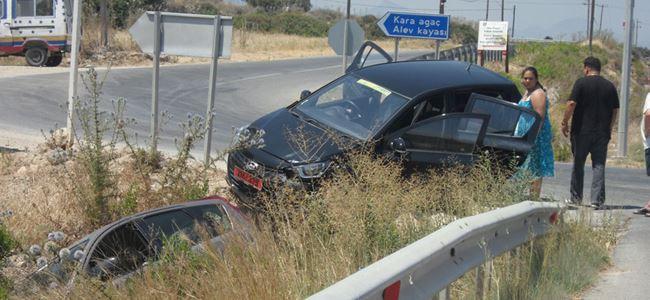 Kiralık araçlar ucuz atlattı!
