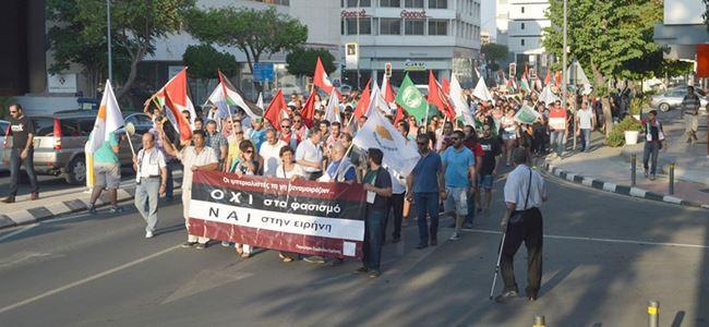 """CTP Gençlik """"Özgür Filistin"""" eylemine katıldı"""