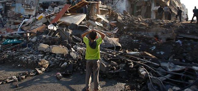 Gazze'deki katliamın bilançosu 644