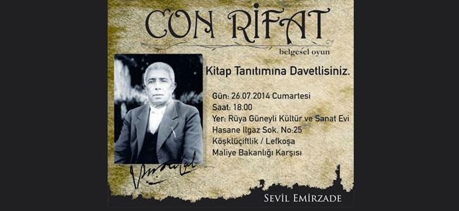 """""""Con Rifat"""" yayımlandı"""
