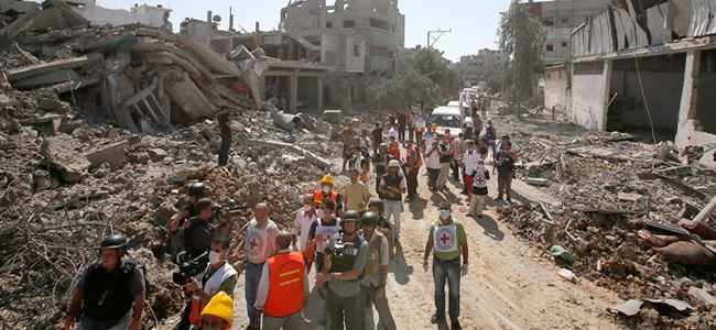 BMden İsraile savaş suçu uyarısı