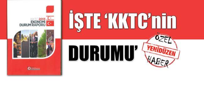 'KKTC 2013 Durum Raporu' yayınlandı.