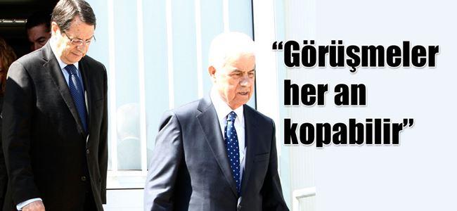 Talat, Kıbrıs sorununu değerlendirdi