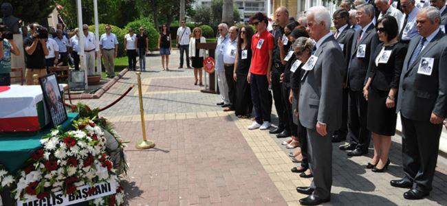 Atamsoy için Mecliste tören düzenlendi