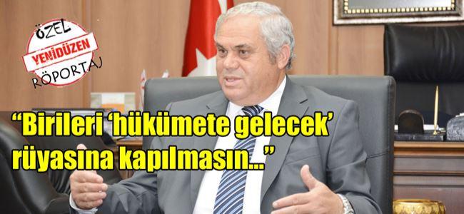 Başbakan Yorgancıoğlu YENİDÜZENe konuştu