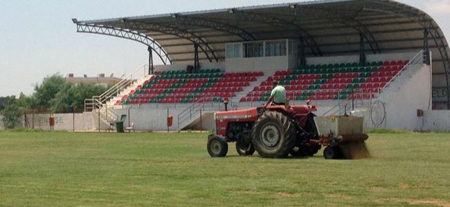 Cemal Balses Stadı yeni sezona hazırlanıyor