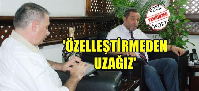 Başbakan Yardımcısı Serdar Denktaş YENİDÜZEN'e konuştu