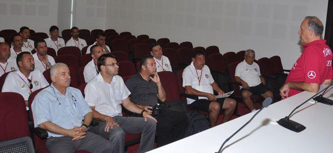 Kaleci antrenörü semineri tamamlandı