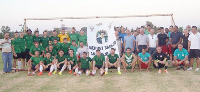 Mehmet Barker Turnuvası Kaymaklı'nın: 1-2