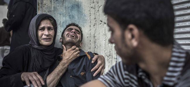 Gazze'de ölü sayısı 1980e yükseldi