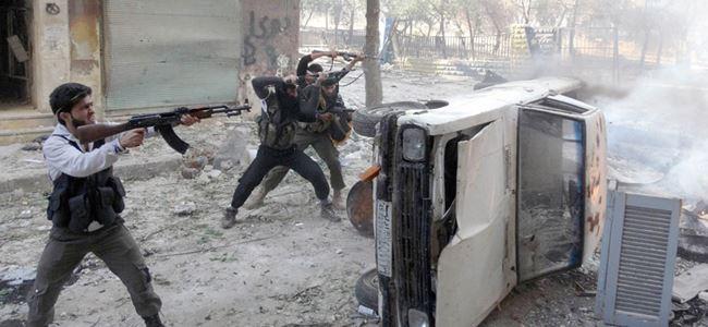 Rejime ait birliklerle muhalifler arasında çatışma