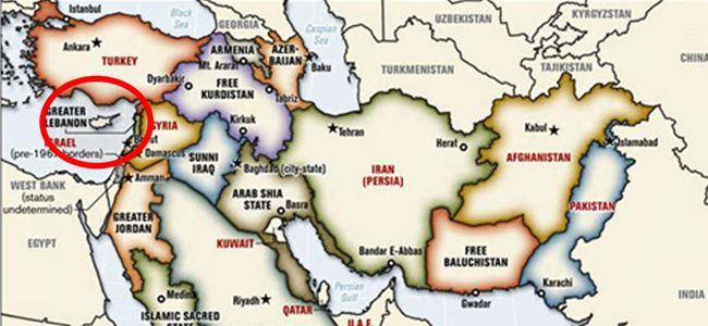 Kıbrıs IŞİDin haritasında