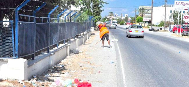 Karaoğlanoğlu'nda  temizlik kampanyası