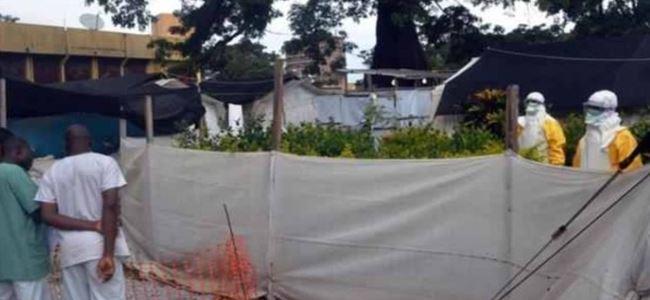 Ebola için sokağa çıkma yasağı