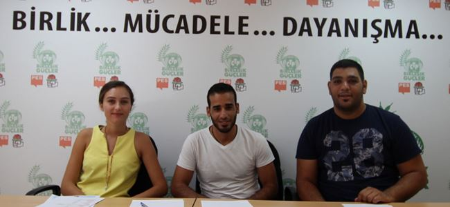 CTPden Filistinli gençlere destek