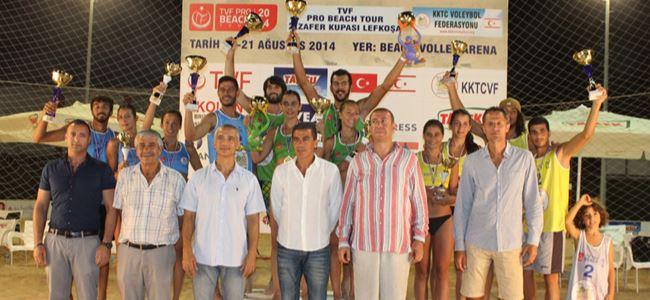Zafer'in şampiyonları belirlendi