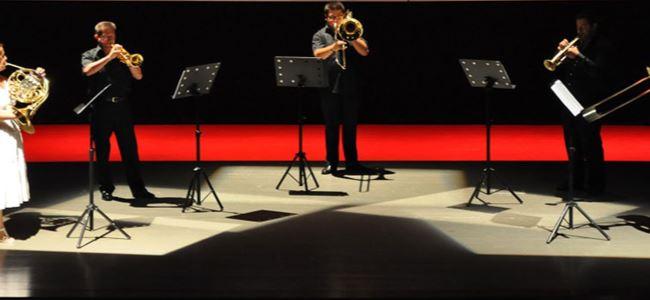 Mağusa'da Golden Horn Brass geçti…