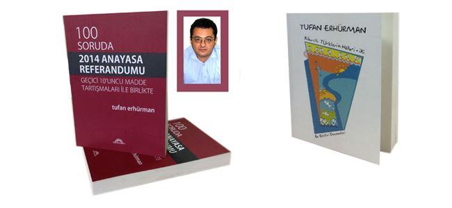 Tufan Erhürman'dan 2 yeni kitap daha…