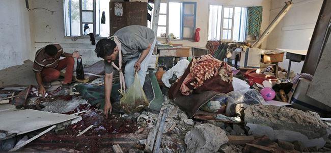 İsrail yine okulları vurdu