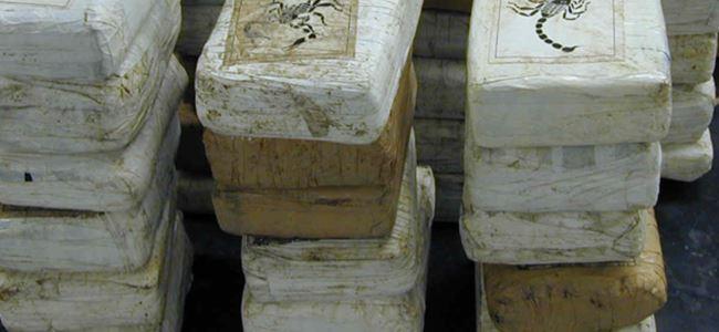 3,3 ton kokain ele geçirildi