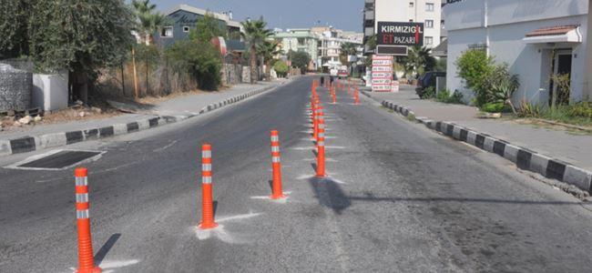 Girne'de yeni yol düzenlemesine geçiliyor