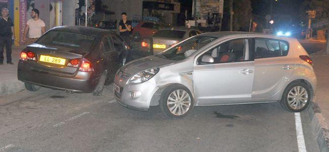 Alkollü sürüş kaza getirdi
