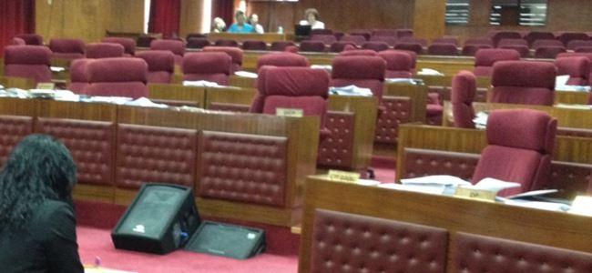 Meclis açıldı, ERTELENDİ