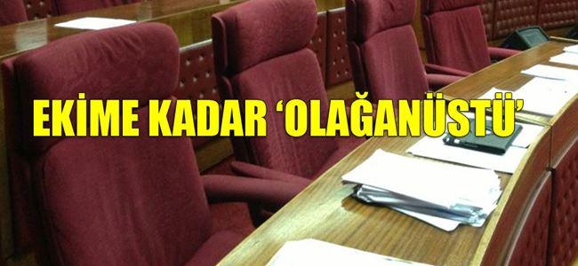 Mecliste ERKEN AÇILMA KRİZİ