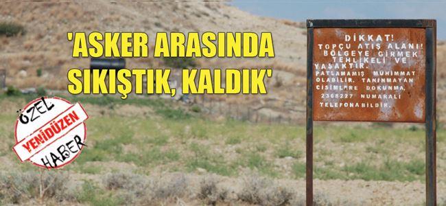 Ercan'dan çıkacak askeri kışla sorun oldu