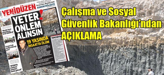 """""""Girne'deki inşaat durduruldu"""""""