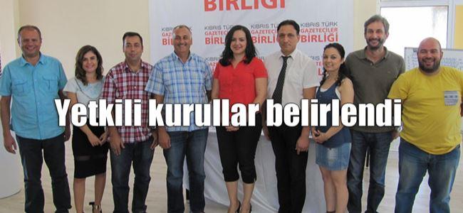 Kıbrıs Türk Gazeteciler Birliği Genel Kurulu yapıldı