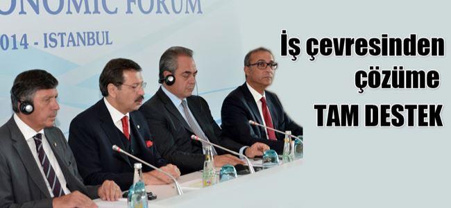 """""""Lefkoşa Ekonomik Forumu"""" İstanbul'da toplandı"""