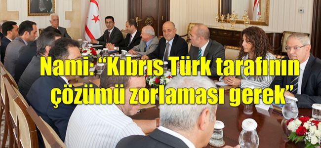 Eroğlu, Meclis Platformu'nu bilgilendirdi