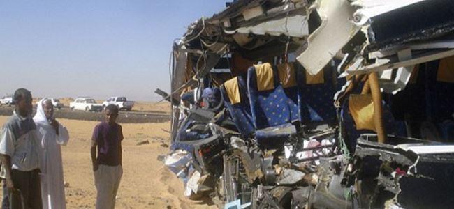 Trafik kazasında 9 ÖLDÜ, 26 YARALI