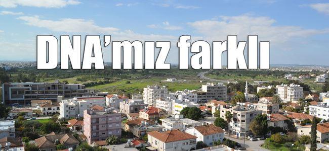 """""""Kıbrıslı Türkler kendine özgü genetik yapıya sahip"""""""