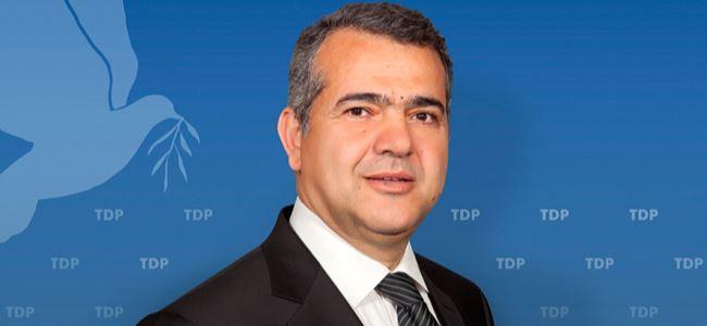 TDPnin yeni Genel Sekreteri Hüdaoğlu