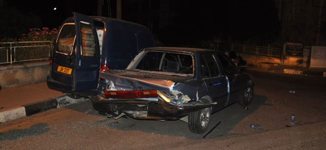 Sabaha doğru kaza: 1 yaralı