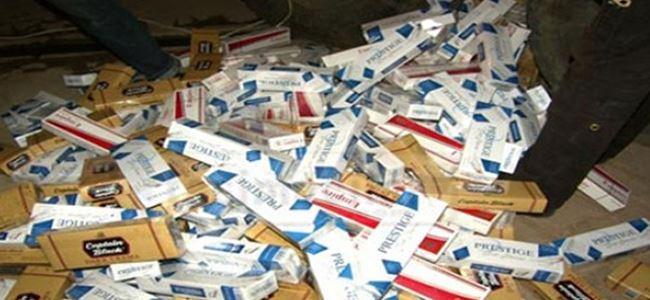 Ercan'dan İstanbul'a kaçak sigara